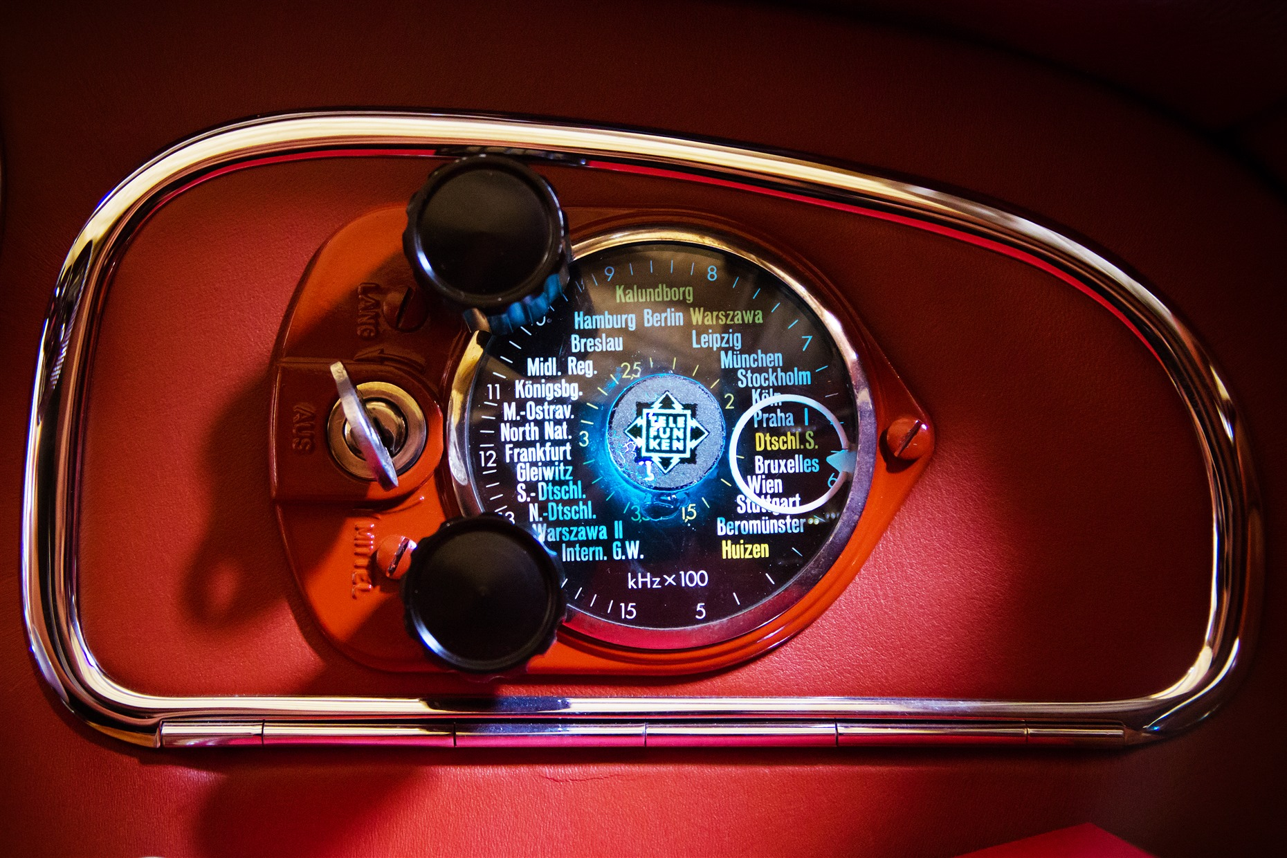 1936 Mercedes-Benz 540K Special Roadster Radio
